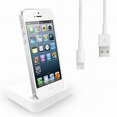 iphone 5 dockingstation charging dock desktop stand station charger cable for apple iphone 5 5g ebay
