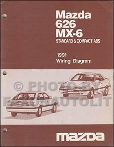 car owners manuals free downloads 1991 mazda 626 parking system early 1991 mazda 626 mx 6 wiring diagram manual original