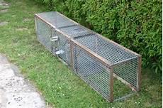 cage 224 fouine 3 compartiments