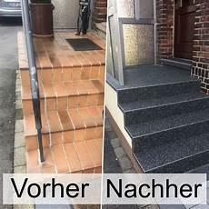 treppe neu belegen treppenrenovierung mit steinteppich ohne abriss die