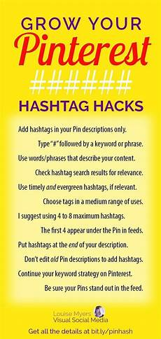 pinterest hashtags 2020 this is all you need to know how to use hashtags social media
