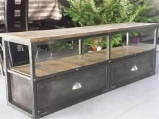 meuble tv style industriel pas cher meuble tv industriel bois metal pas cher int 233 rieur de maison