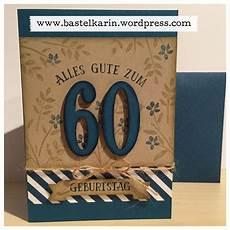 Geburtstagskarte 60 Basteln - karte zum 60 geburtstag f 252 r mann stin up so viele