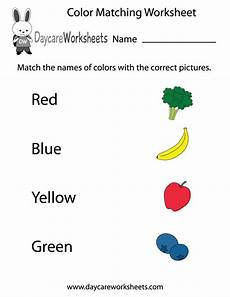 learning colors worksheets for kindergarten 12774 preschoolers to match different colors written out with the correct pictures in this free