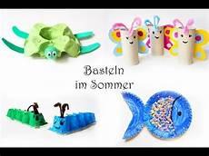 basteln im sommer basteln mit kindern im sommer 15 schnelle ideen aus eierkartons papptellern klorollen
