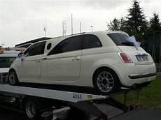 fiat 500 the stretch limousine edition carscoops