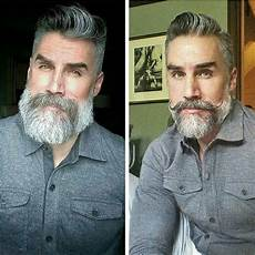 insanely cool salt pepper beard styles men s