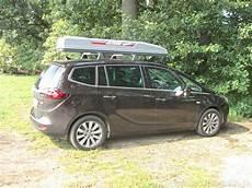 Dachbox Huckepack Stra 223 En Pr 228 Senz Opel Zafira Tourer