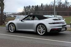 992 porsche 911 cabriolet spied gt3 cabrio rumors grow