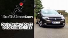 sandero sce 75 dacia sandero sce 75 acceleration throttlechannel