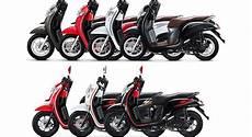 Gambar Motor Scoopy Warna Hitam Putih Modifikasi Pemudi V