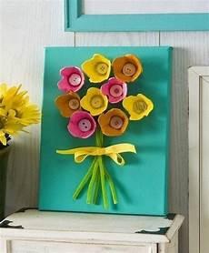 Blumen Aus Eierkarton Basteln Anleitung Dekoking