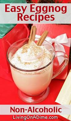 easy non alcoholic homemade eggnog recipes crafty 2 the