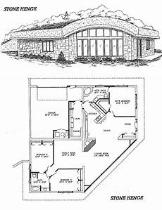 earth berm house plans earth sheltered technology stonehenge home floor plan