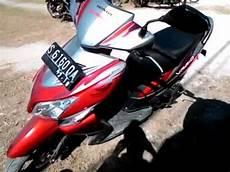 Modifikasi Vario 110 Babylook by Tilan Honda Vario 110 Mmc Karburator Warna Merah