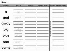 handwriting worksheets sight words 21563 sight word homework handwriting practice by missmissg tpt