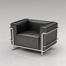 Lc3 Le Corbusier Armchair 3d Model High Quality 3d Models