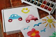 painting with ice cubes fun family crafts