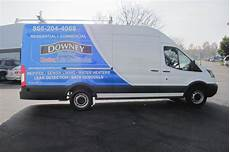 vehicle graphics plumbing company ford transit downey ca