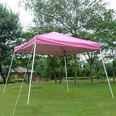 folding gazebo 10 x 10 ez pop up canopy outdoor slant leg wedding