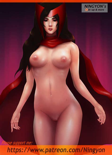 Scarlet Witch Naked