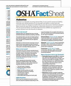 osha fact sheet union services access