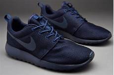 nike shoes nike sportswear roshe run midnight navy