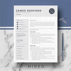 professional resume template for mac pages and word behance