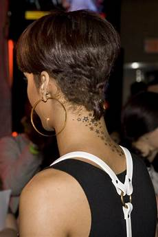 Rihanna Hairstyles Front And Back View rihanna s low maintenance pixie hairstyle with a