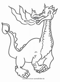 ausmalbild drache zum ausdrucken