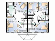 1200 sq ft duplex house plans duplex design 027m 0009 2nd floor plan square feet 2400