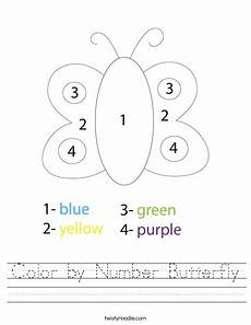 color by number worksheets butterfly 16083 color by number butterfly worksheet twisty noodle
