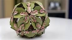 Basteln Mit Papier Origami Bl 252 Tenkugel Falten