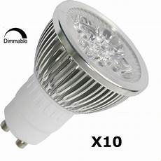 10pcs Pack Dimmable Gu10 4w 3200k Led Spot Light 45 176 View