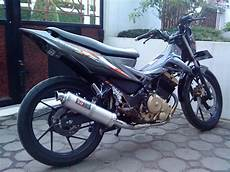 Modifikasi Motor Satria F by Modif Satria Fu 150 My Simple Journey