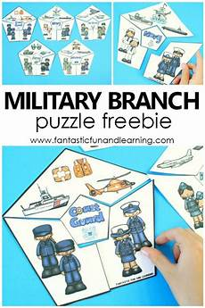 free printable veterans day military branches puzzles fantastic fun learning