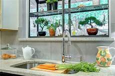 Kitchen Bay Window Plants by How To Style A Garden Window