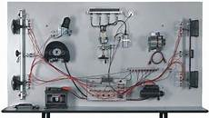 car wiring system teaching bench with electronic ignition unit