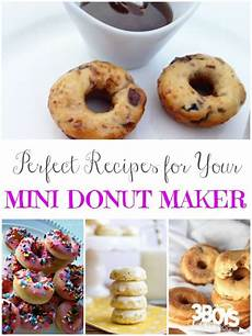 Mini Donut Maker Recipes 3 Boys And A 3