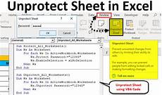 unprotect sheet in excel how to unprotect excel sheet