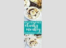 chocolate monkey oatmeal  for one   gluten free_image
