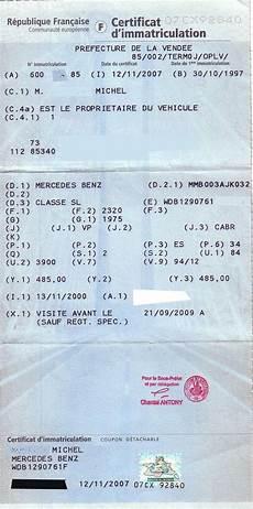 numéro vin ancienne carte grise nombre de place sur carte grise sl