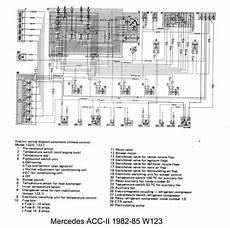 w124 climate control wiring diagram circuit and schematics diagram