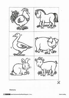Ausmalbilder Tiere Vom Bauernhof Bauernhof Memo Spiel Tiere Mit Bildern Bauernhof Tiere