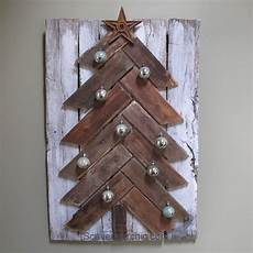 pallet wood tree diy scavenger chic