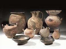 foto vasi lotto di vasi dauni archeologia classica ed egizia