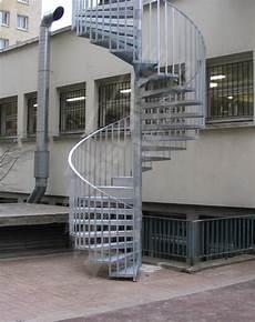 escalier colimaçon acier galvanisé escalier colimacon acier exterieur