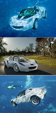 touted as the quot world s first underwater flying car quot rinspeed s squba was inspired by the 1977