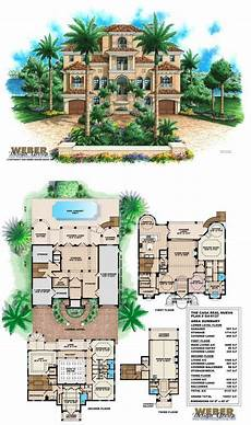 mediterranean house plans with pools mediterranean house plan mediterranean tuscan beach home