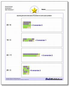 easy division worksheets no remainders 6291 picture math division